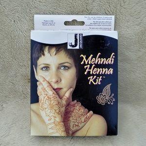 New in box Jacquard Henna kit